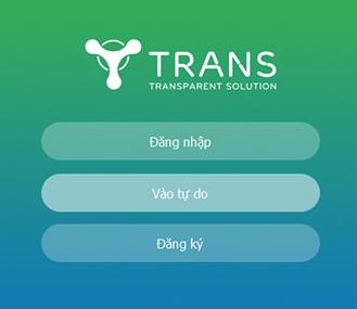 Hướng dẫn sử dụng phần mềm Trans dành cho giảng viên