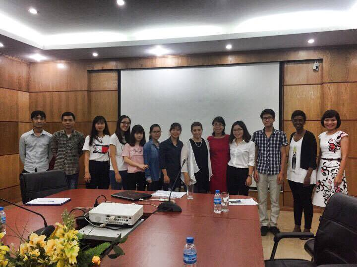 Trung tâm Đào tạo Nông nghiệp Quốc tế Arava (AICAT) và Đại sứ quán Israel tại Việt Nam đến làm việc tại Trường Đại học Phương Đông