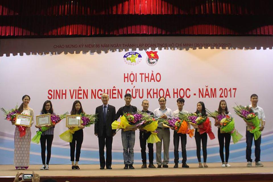 Hội thảo sinh viên Nghiên cứu khoa học - Năm 2017