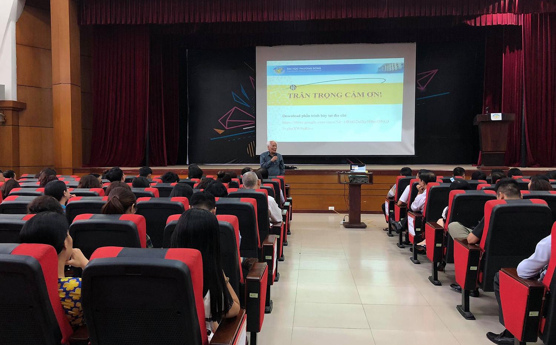 Trường Đại học Phương Đông tổ chức tập huấn công tác coi thi THPT Quốc gia 2018