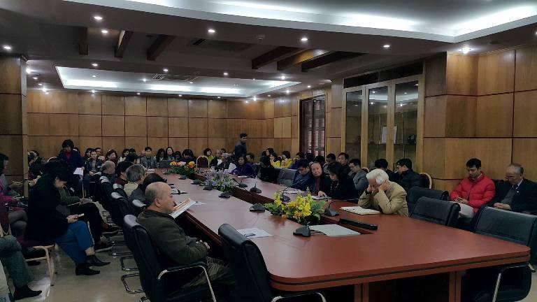 Đảng ủy Trường Đại học Phương Đông tổ chức học tập, quán triệt, tuyên truyền, triển khai thực hiện Nghị quyết Hội nghị lần thứ tư Ban Chấp hành Trung ương Đảng (khóa XII)