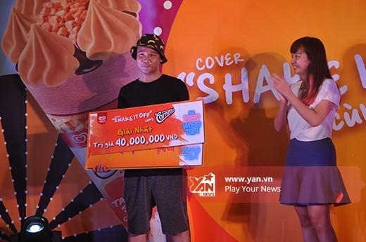 Câu lạc bộ HIPHOP PDU giành giải nhất cuôc thi nhảy cùng Conetto toàn Miền Bắc