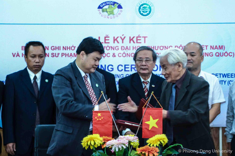 (HTĐT) Học viện Sư phạm Khoa học và Công nghệ Quảng Tây và trường Đại học Phương Đông tiếp tục hợp tác đào tạo trong những năm tiếp theo