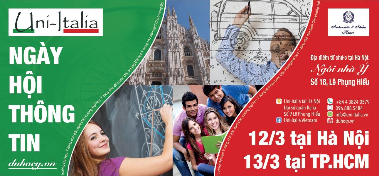 (HTĐT) Ngày hội thông tin du học Ý, nhiều cơ hội nhận học bổng Đại học và Sau Đại học