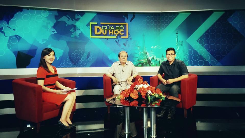 (HTĐT) Đài truyền hình Hà Nội phỏng vấn đại diện trường Đại học Phương Đông trong chương trình Cửa sổ du học