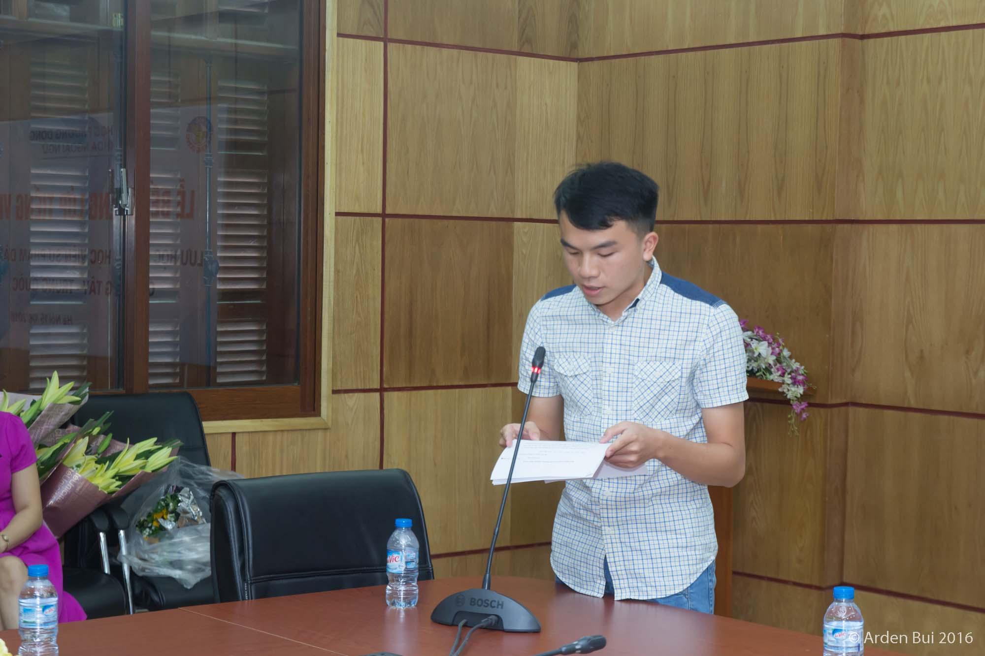 (HTĐT) Sinh viên Trung Quốc hoàn thành xuất sắc chương trình học tiếng Việt năm học 2015-2016