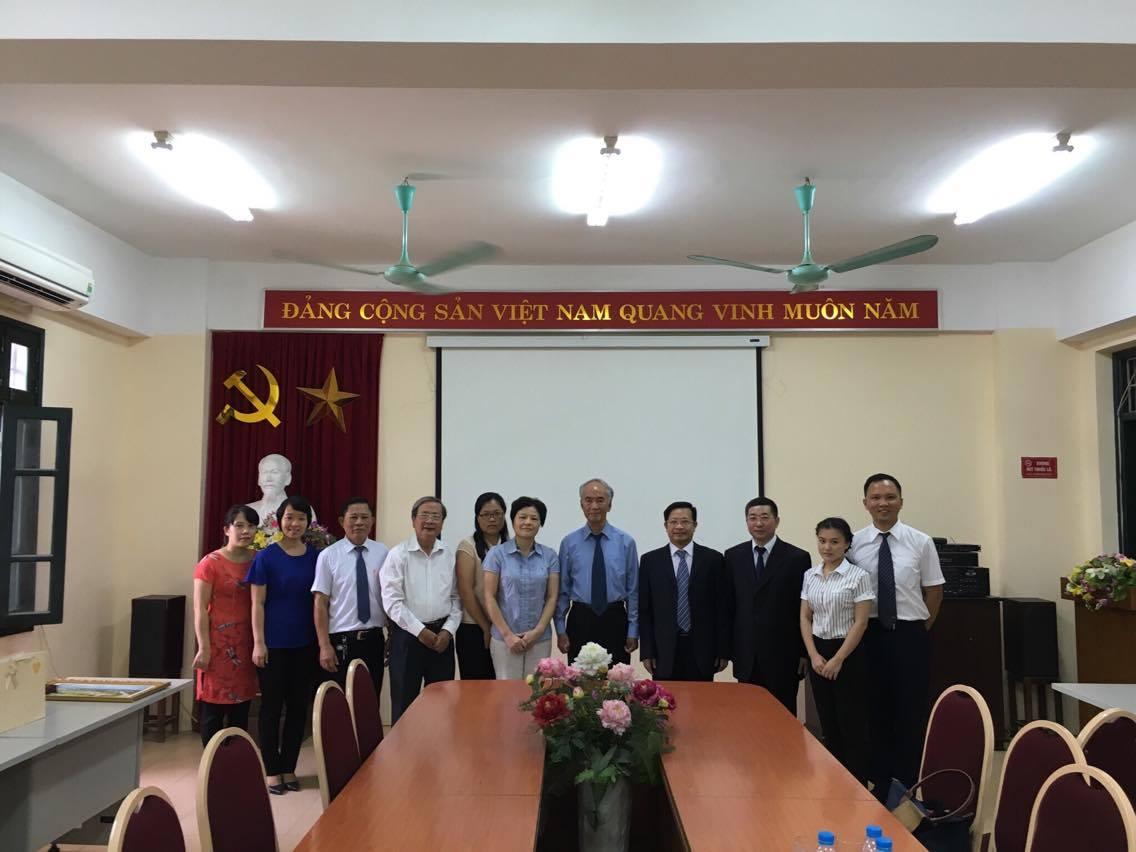 (HTĐT) Các trường Đại học của tỉnh Quảng Tây (Trung Quốc) thăm trường Đại học Phương Đông