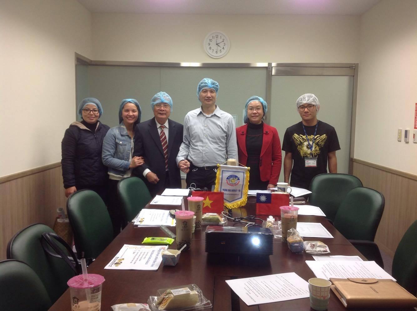 (CNSH)-Báo cáo về tình hình thực tập của sinh viên Khoa CNSH tại Đài Loan