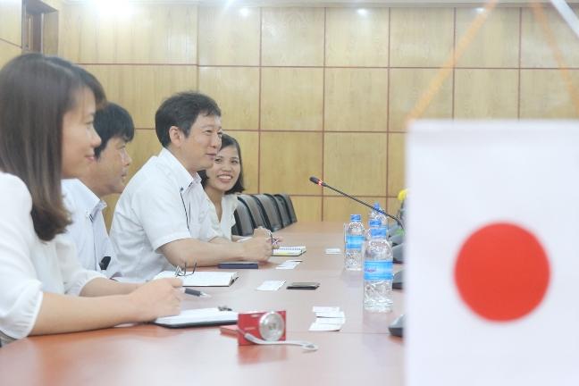 (HTĐT) CEO Towada Việt Nam thăm và làm việc với trường Đại học Phương Đông