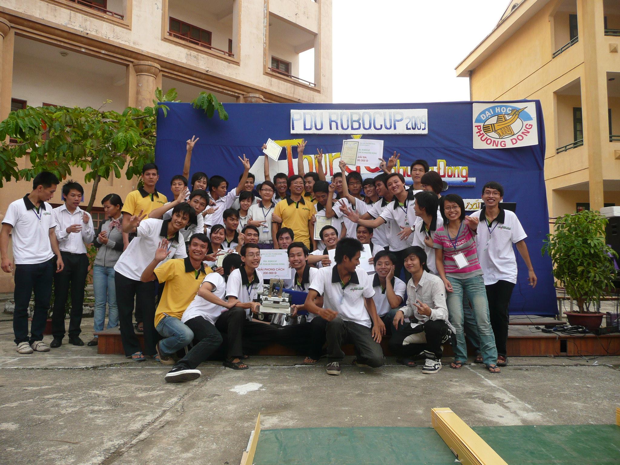 [Roboclub] PDU RoboCup niềm hào hứng của sinh viên ĐH Phương Đông