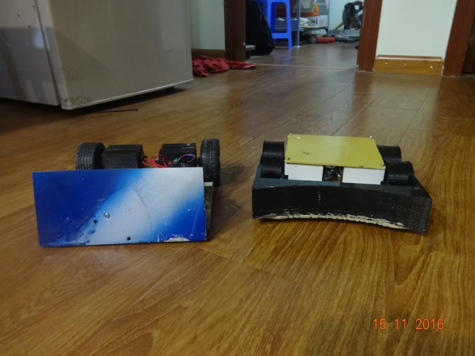 [ROBOT] Những chú robot đầu tiên đã sẵn sàng xung trận