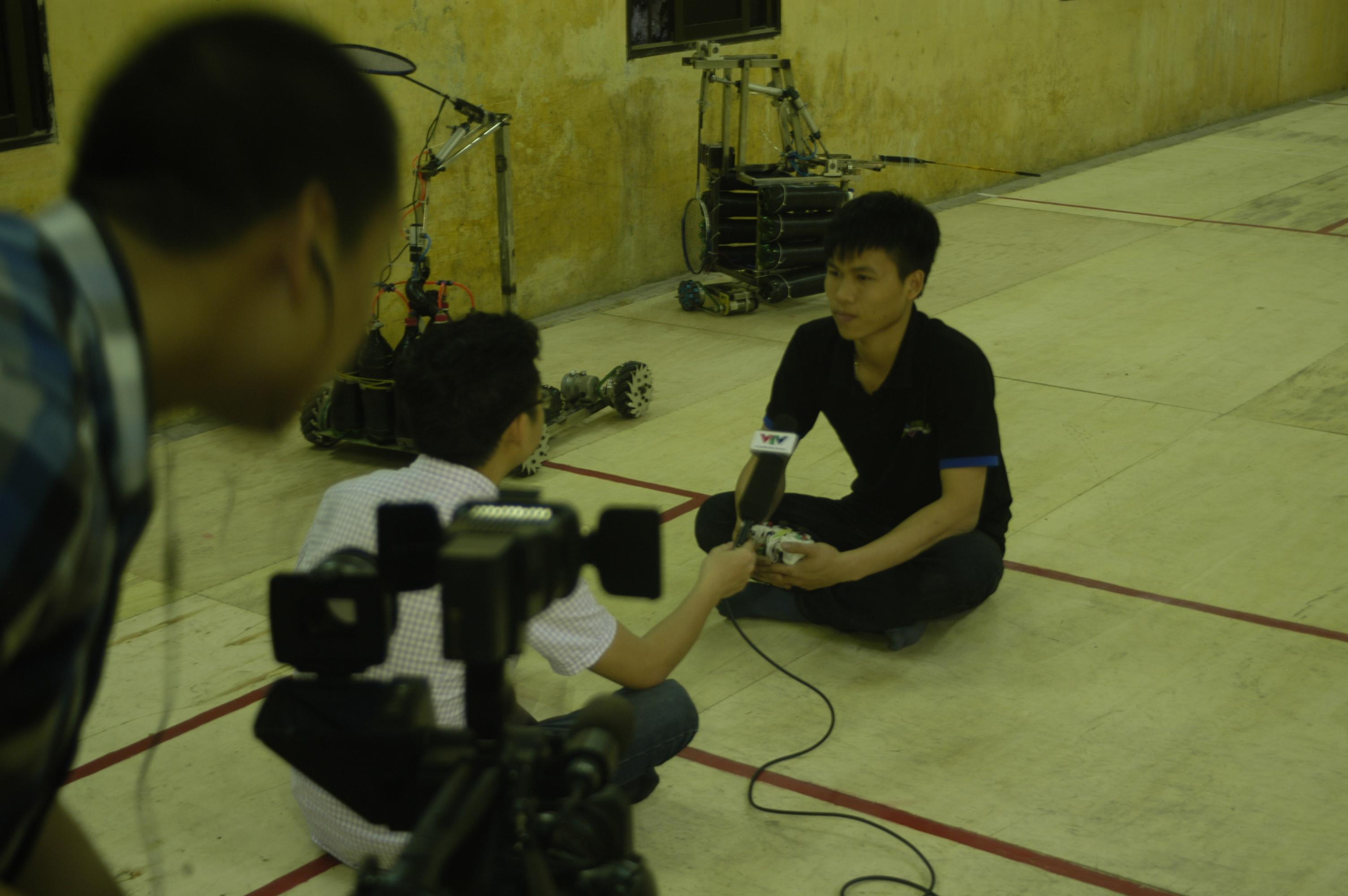 [Roboclub] VTV2 chương trình đồng hành cùng Robot - Robocon Phương Đông đã sẵn sàng...