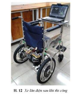 [De tai] Thiết kế và thực hiện xe lăn điện điều khiển bằng mắt