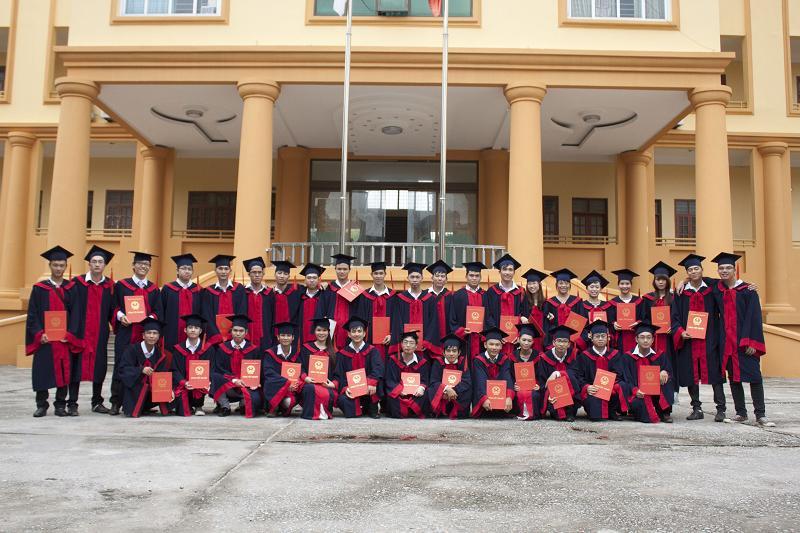 Bảo vệ tốt nghiệp ngành công nghệ kỹ thuật Cơ điện tử Đại Học Dân Lập Phương Đông Năm 2014