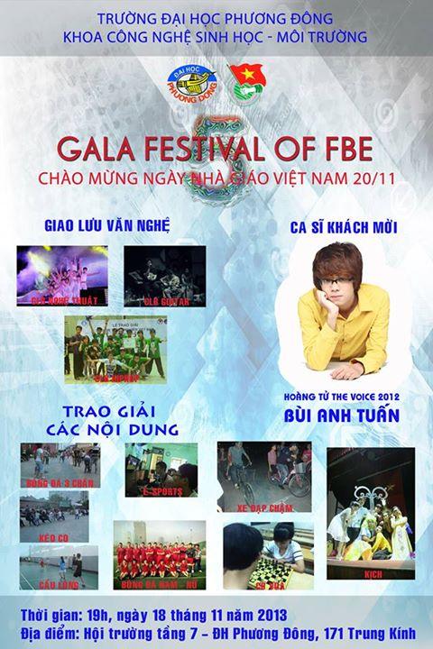 Gala Festival of FBE-Chào mừng ngày nhà giáo Việt Nam 20/11