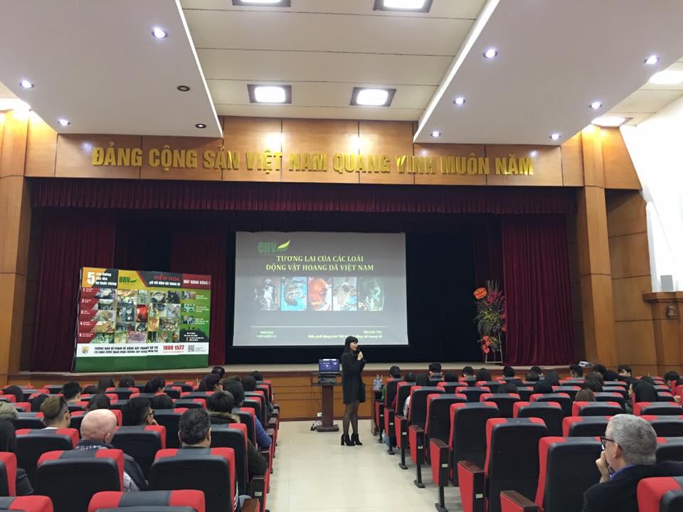 (CNSH) - Tọa đàm: Tương lai các loài động vật hoang dã Việt Nam