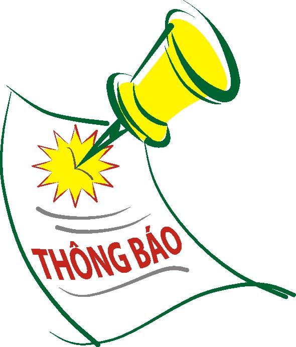 (CNSH) TB: Lịch bảo vệ Đồ án tốt nghiệp đợt 2, năm học 2016 - 2017