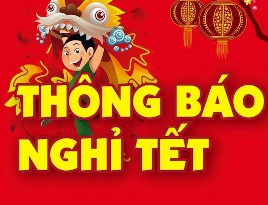(CNSH)-Thông báo: Lịch học của sinh viên dịp nghỉ Tết Đinh Dậu