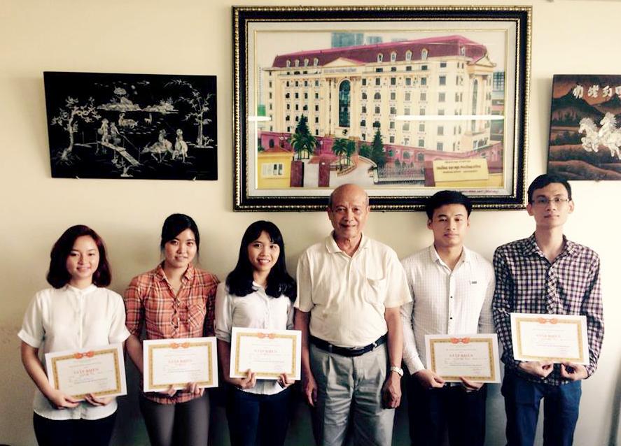 Lễ gặp mặt sinh viên và trao học bổng học kỳ II năm học 2014-2015