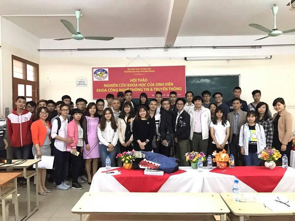 Hội thảo Nghiên cứu khoa học và Đào tạo lần thứ XVI Khoa CNTT&TT