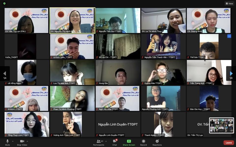 Gặp mặt Tân sinh viên đầu khóa K28 năm học 2021-2022