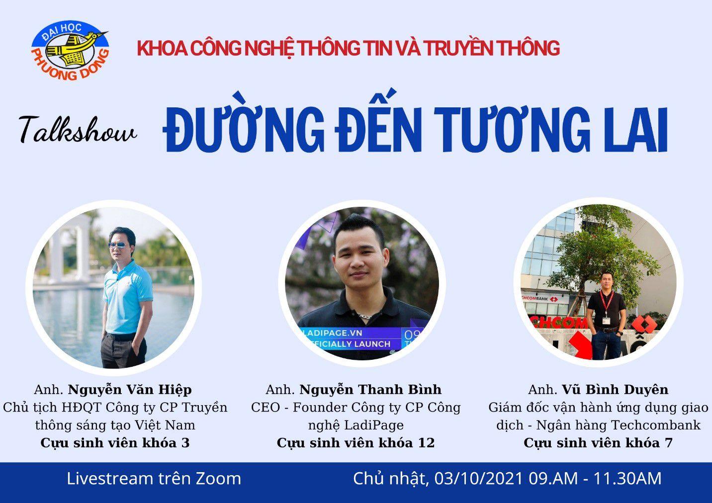 Chương trình gặp gỡ cựu sinh viên thành đạt - Khoa CNTT&TT