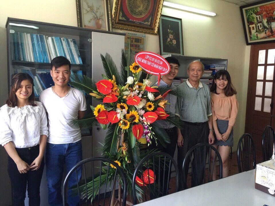 Tri ân thầy cô nhân ngày nhà giáo Việt Nam 20-11-2016
