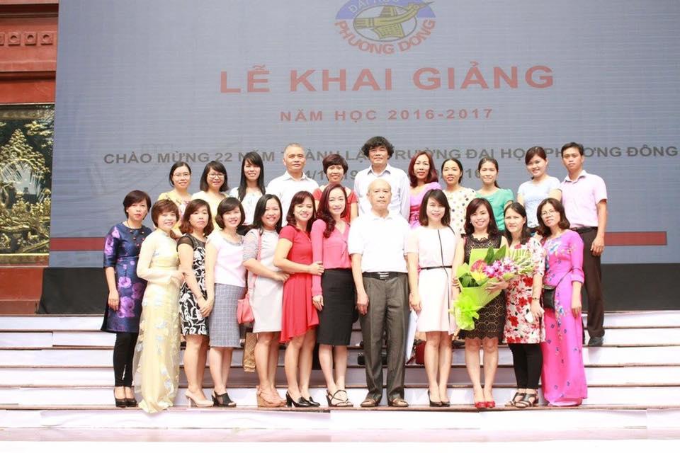 Trường đại học Phương Đông long trọng tổ chức kỷ niệm 22 năm thành lập trường và khai giảng năm học mới 2016 - 2017