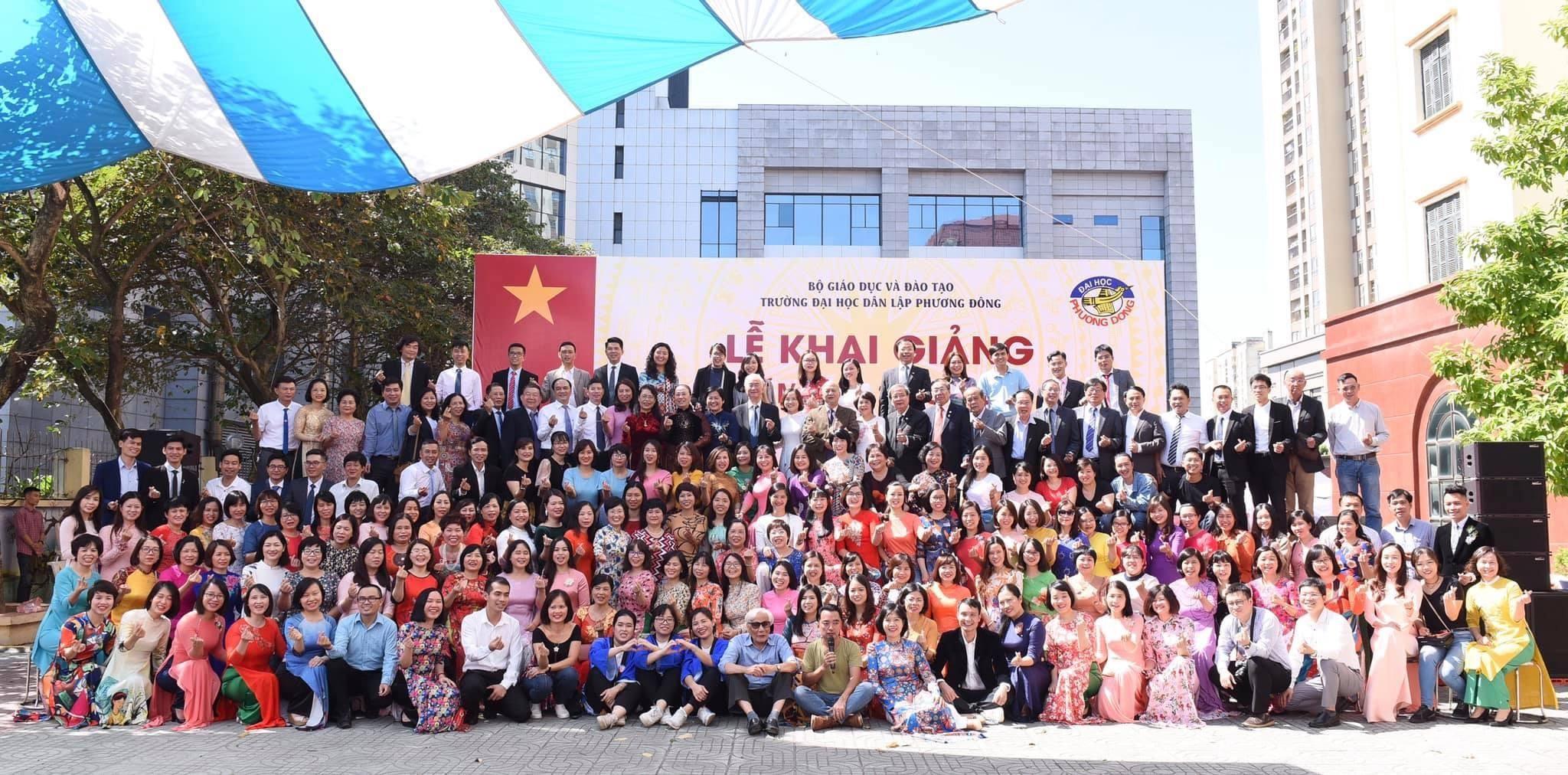 Trường Đại học Phương Đông tổ chức lễ khai giảng năm học 2020-2021 và kỷ niệm 26 năm thành lập Trường