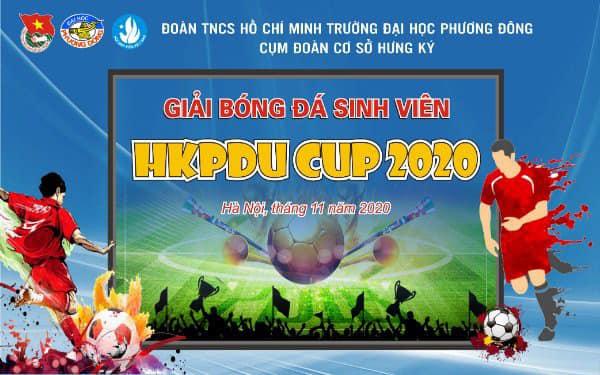 Sôi động ngày khai mạc Giải bóng đá sinh viên Đại học Phương Đông - cơ sở Hưng Ký