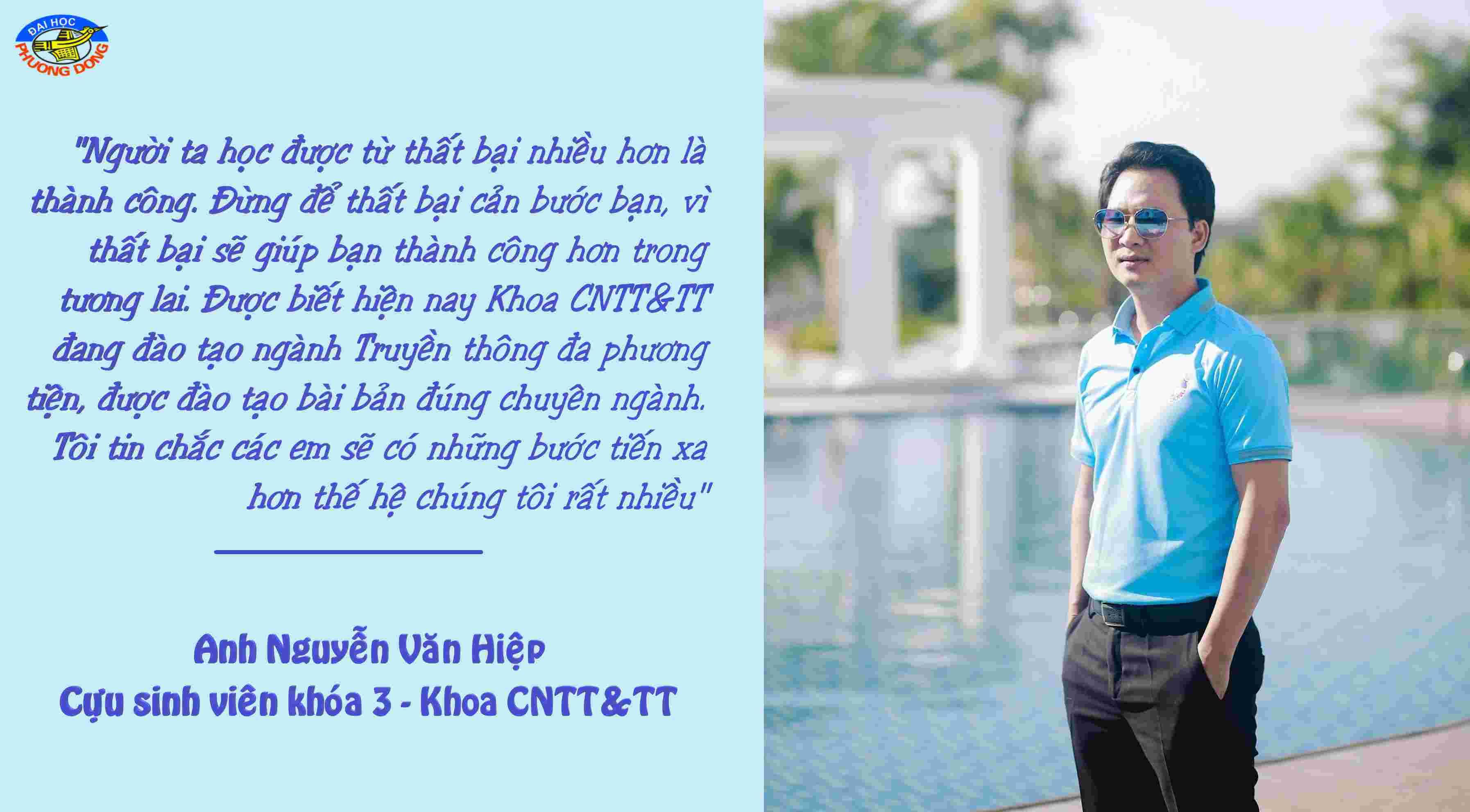 Cựu sinh viên Khoa CNTT&TT đã bén duyên với lĩnh vực Truyền thông đa phương tiện như thế nào...