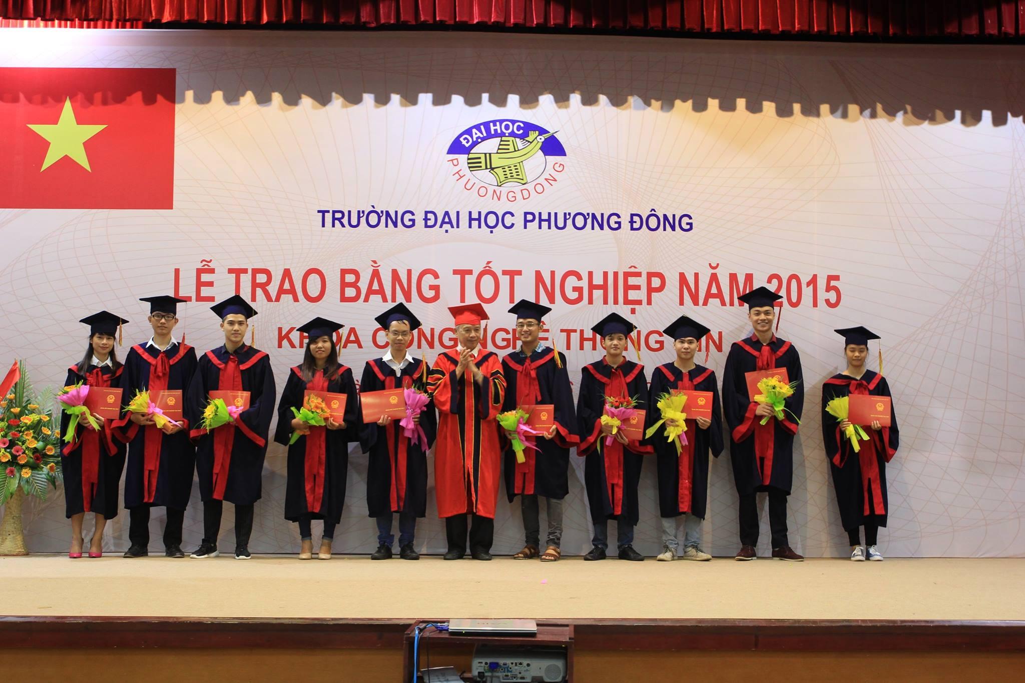 Sinh viên CNTT trưởng thành sau 4 năm học tập hăng say và nhiệt huyết