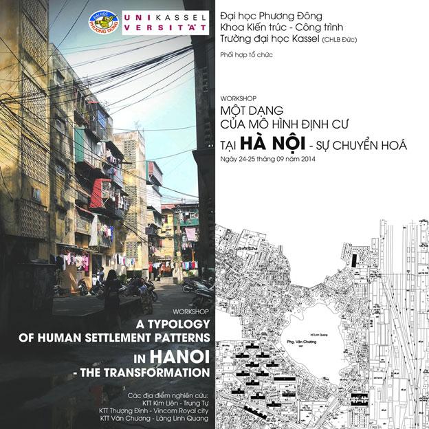 Workshop Việt Nam – Đức: Một dạng của mô hình định cư tại Hà Nội – sự chuyển hóa