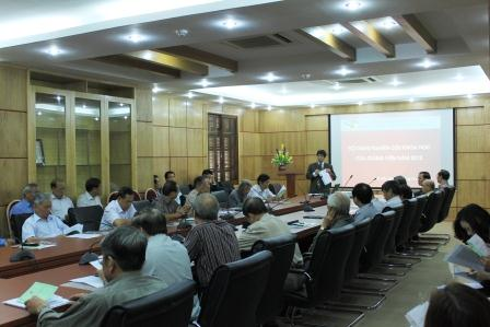 Hội nghị nghiên cứu khoa học của giảng viên năm 2012