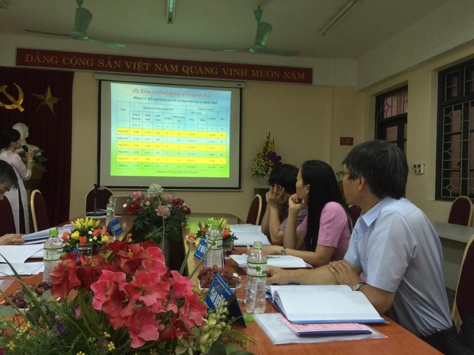 Lễ bảo vệ Luận văn Thạc sỹ khóa 2 - Ngành Quản trị kinh doanh