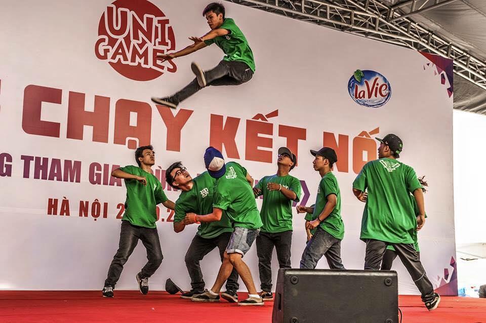 Chúc mừng team VUG trường Đại Học Phương Đông giành giải nhất Dance Battle