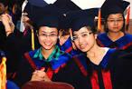 Lễ trao bằng tốt nghiệp cho sinh viên đợt tháng 6/2014